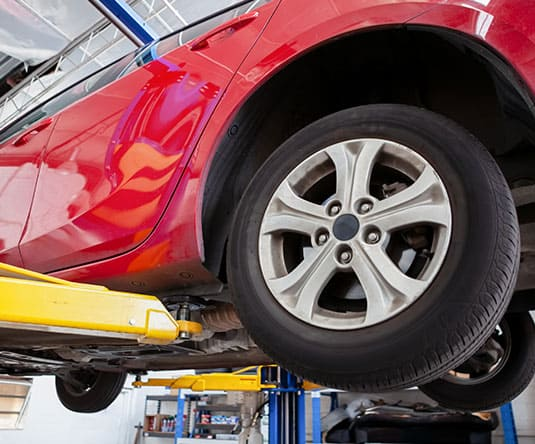 Frame and Tire Alignment Services